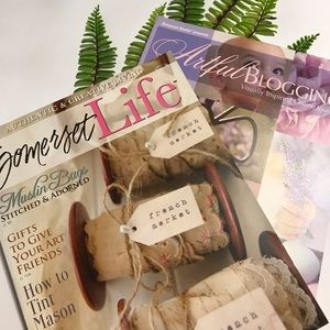 🇨🇦Artful Blogging & Somerset Life Magazines